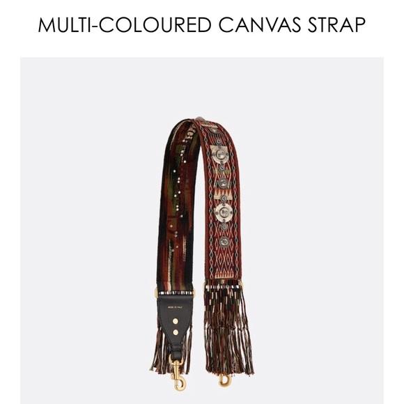 Dior Handbags - NIB Dior Boho Fringe Saddle Strap